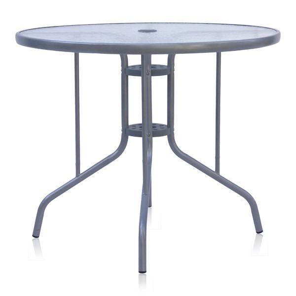 Стол металлический обеденный