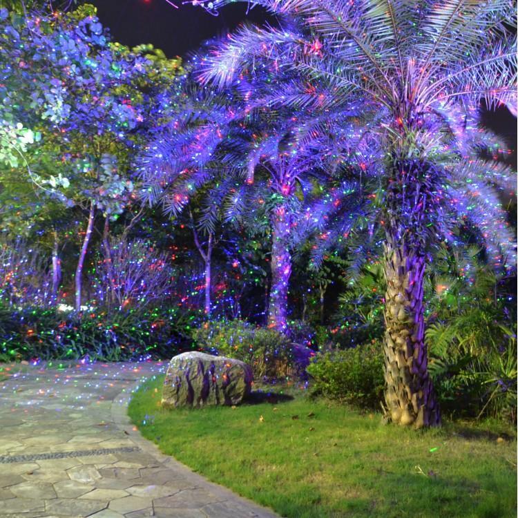 Уличная лазерная подсветка, Garden