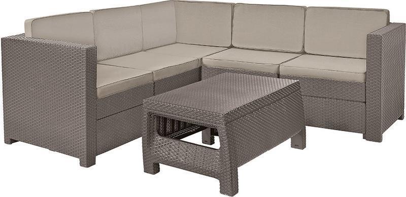 Комплект пластиковой мебели Provence set with coffee table