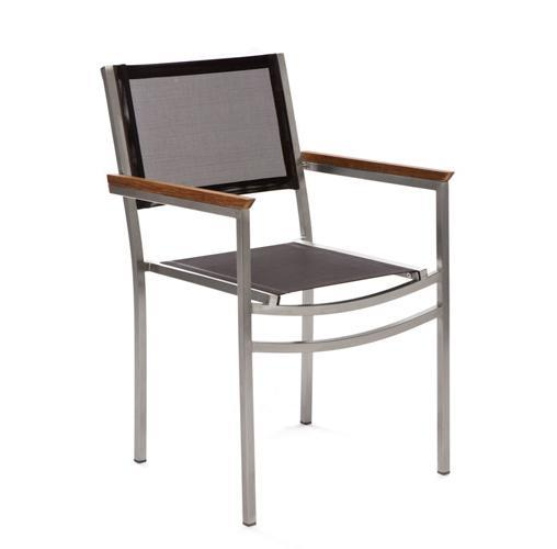 Кресло металлическое мягкое Berbeda