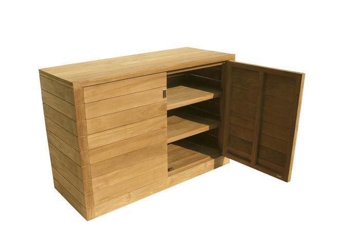 Стол деревянный буфет Fugu
