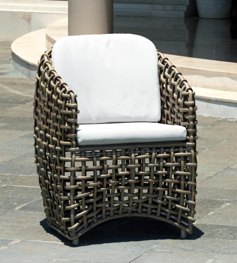 Кресло плетеное Dynasty