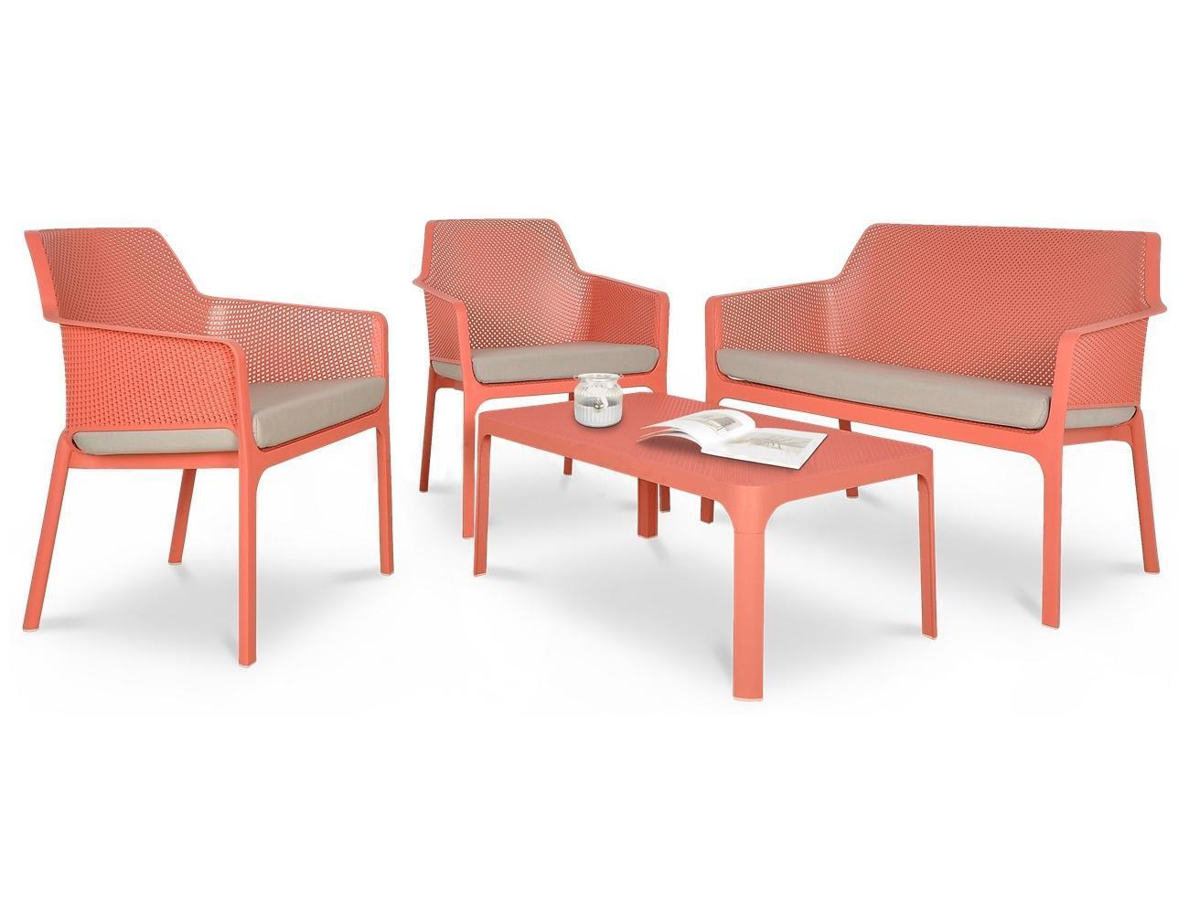 Комплект пластиковой мебели Net Relax