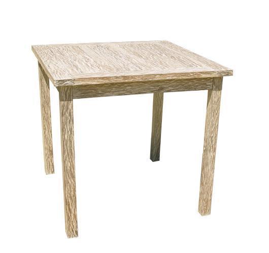 Стол деревянный обеденный White Sand