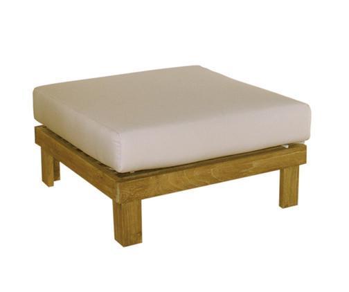 Деревянная банкетка без подушки Saint Tropez