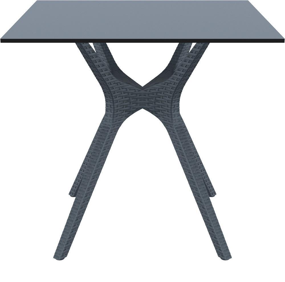 Стол пластиковый плетеный Ibiza Table 80