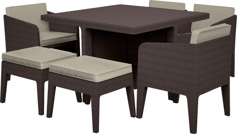 Комплект пластиковой мебели Columbia set 7 pcs