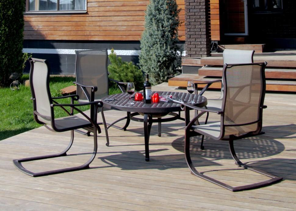 Комплект металлической мебели Этна