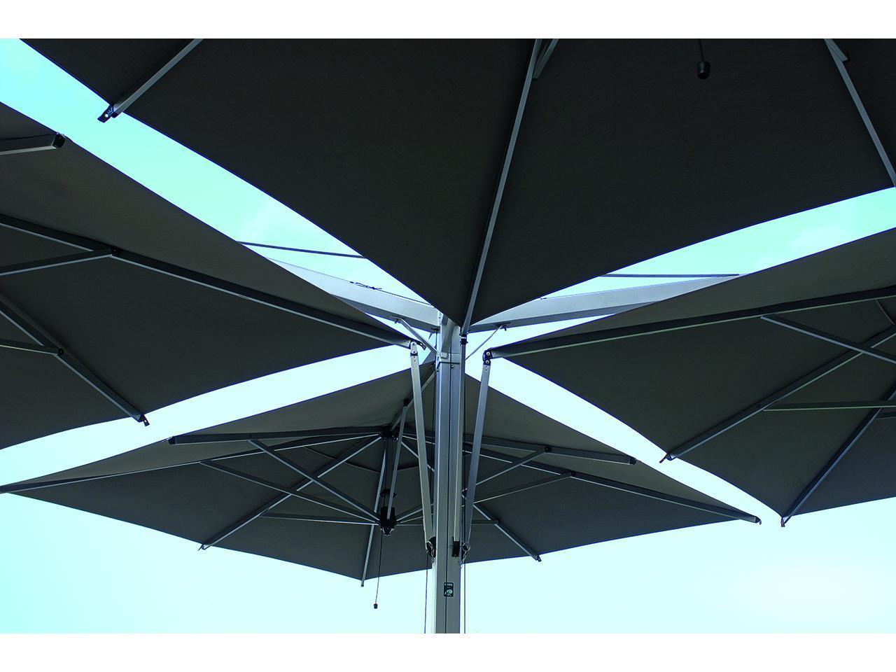 Зонт профессиональный четырехкупольный Quadruplo Componibili