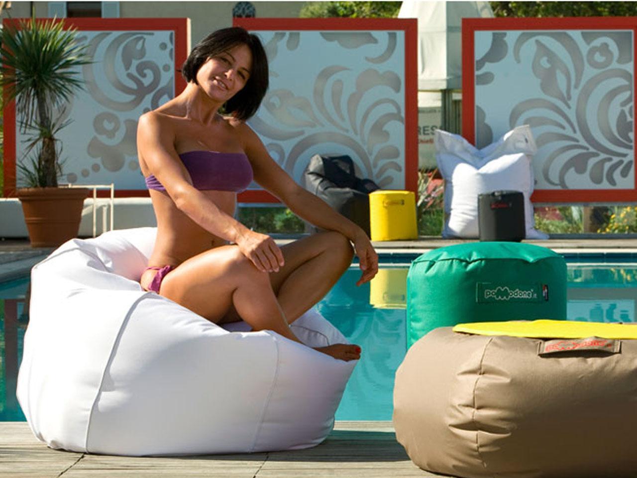 Кресло-пуф для пляжа Conchiglia Tessuto