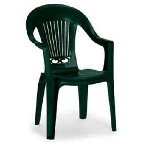 Кресло пластиковое Splendida Scratchproof Monobloc