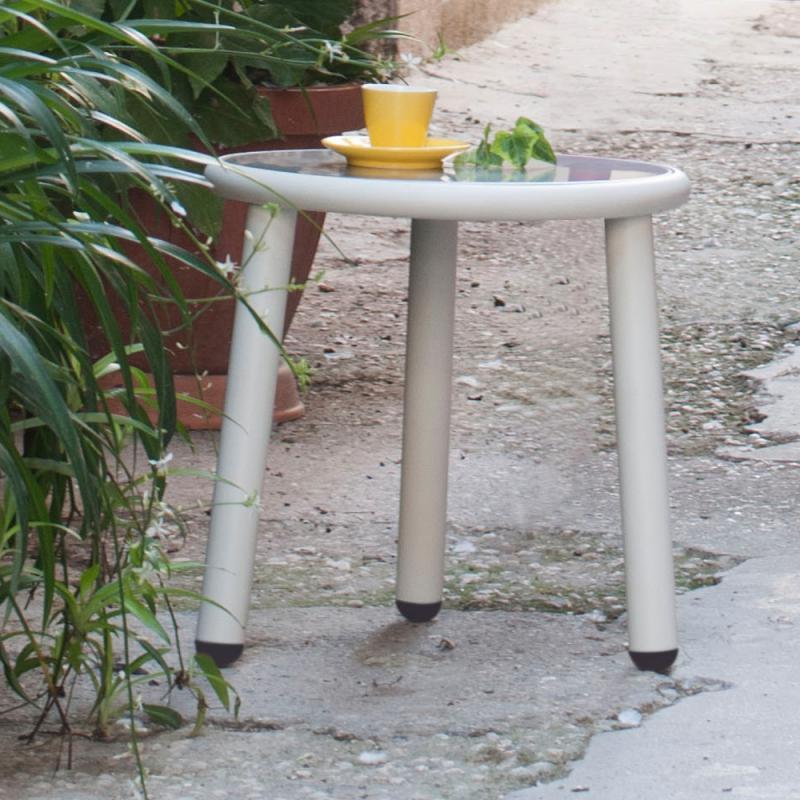 Столик металлический кофейный Yard