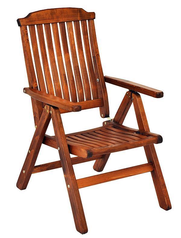 Кресло деревянное складное Primo