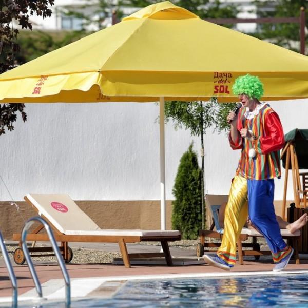 Зонты пляжные производства Россия