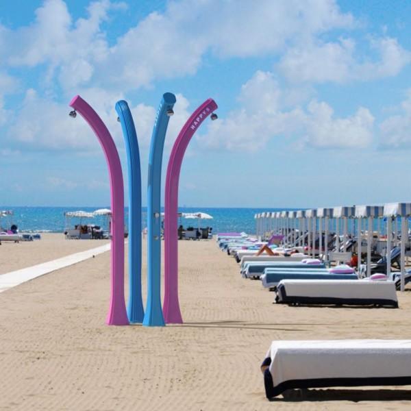 Душевые для пляжа
