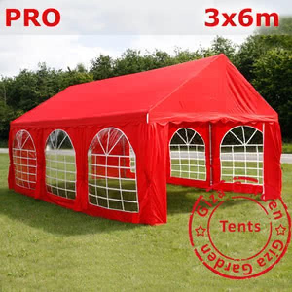 Шатер Giza Garden 3x6м красный