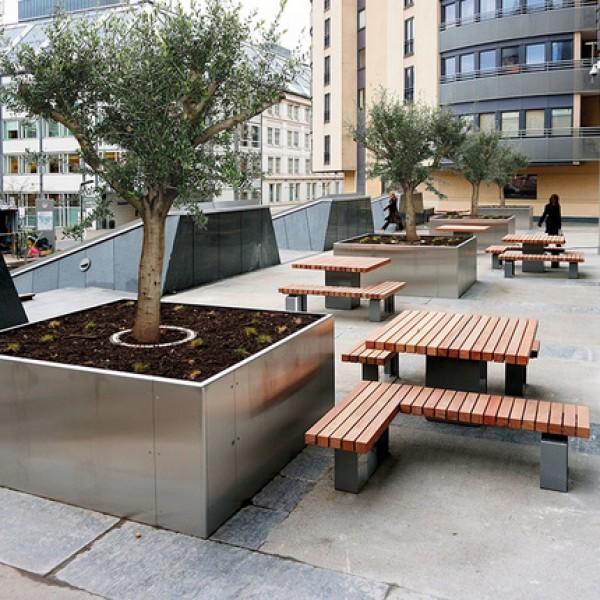 Уличная мебель, работа с территорией