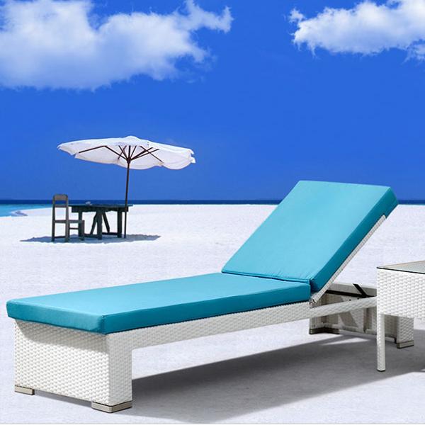 Лежаки пляжные искусственный ротанг