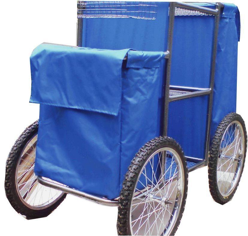 Тележка для горничных на велосипедных колесах для работы по песчаным пляжам, ТГ3 вело