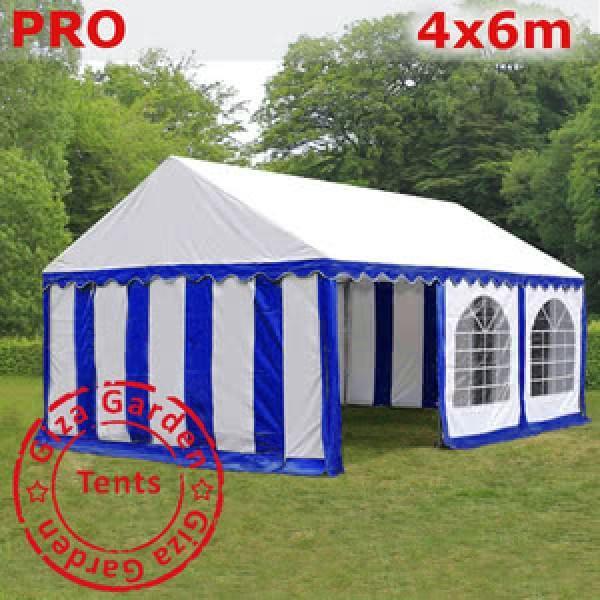 Шатер Giza Garden 4 x6 сине-белый PRO
