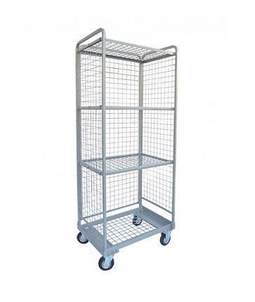 Тележка-стеллаж для перевозки и хранения белья, ТБ 12.8