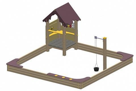Песочница Игровой домик