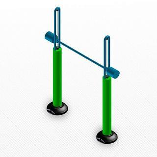 Тренажер для маломобильных групп Штанга 30 кг