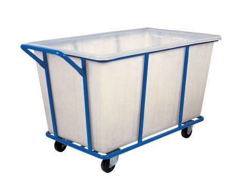 тележка для прачечной с пластиковым баком, ТП 27.2