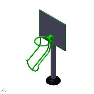 Тренажер для маломобильных групп Минибаскетбол