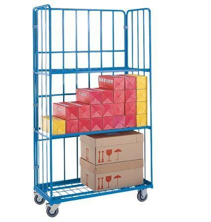 Тележка-стеллаж для перевозки и хранения белья, ТБ 122