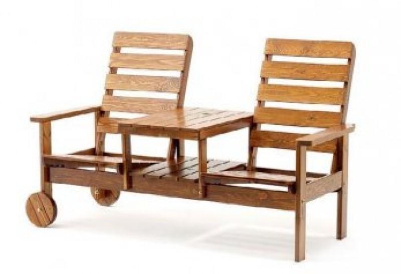 Кресло из сосны Stereo Артикул 915022